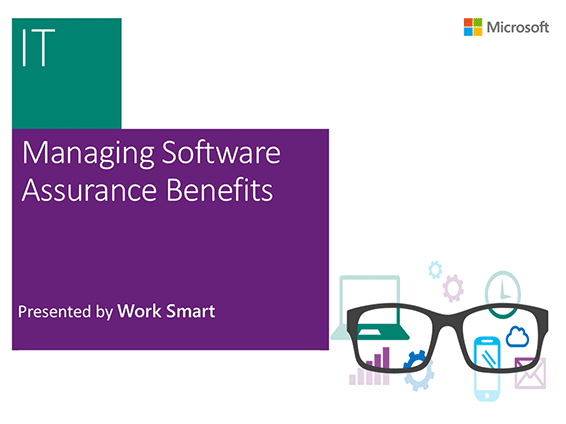 Watch an overview of how to manage your Software Assurance Benefits