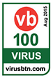 Virus Bulletin VB 100 certification logo