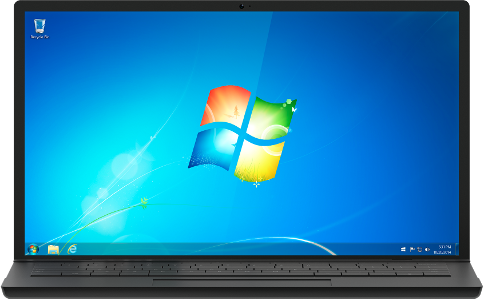 Download Windows 7 Disc Images (ISO Files) Windows7-laptop