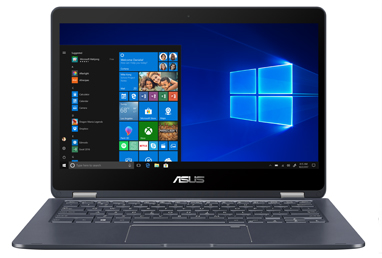 Front facing image of the ASUS NovaGo