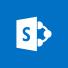 SharePoint logo, the SharePoint home page