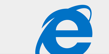 Upgrade to Internet Explorer, now enhanced with Bing and MSN.