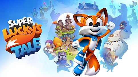 Super Lucky's Tale game screen
