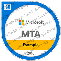 MTA example badge