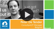 Peter De Tender video