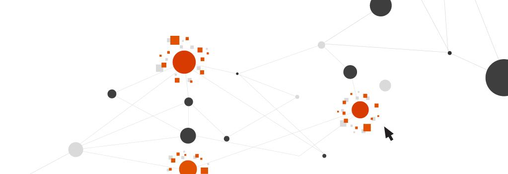 illustration of connecting matrix of dots