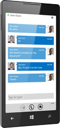 Lync 2013 for Windows Phone