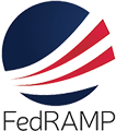 FedRAMP logo, learn about FedRAMP