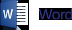 Word logo