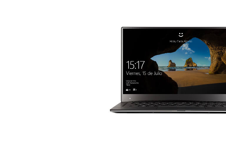 Windows Hello en una Dell XPS 13