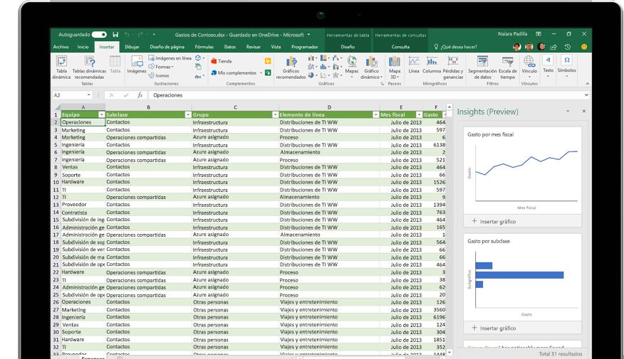 Página Compartir de Excel con la opción Invitar a personas seleccionada