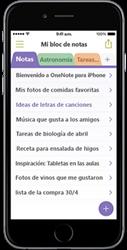 OneNote para iPhone