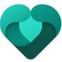 Corazón verde de Microsoft Family Safety
