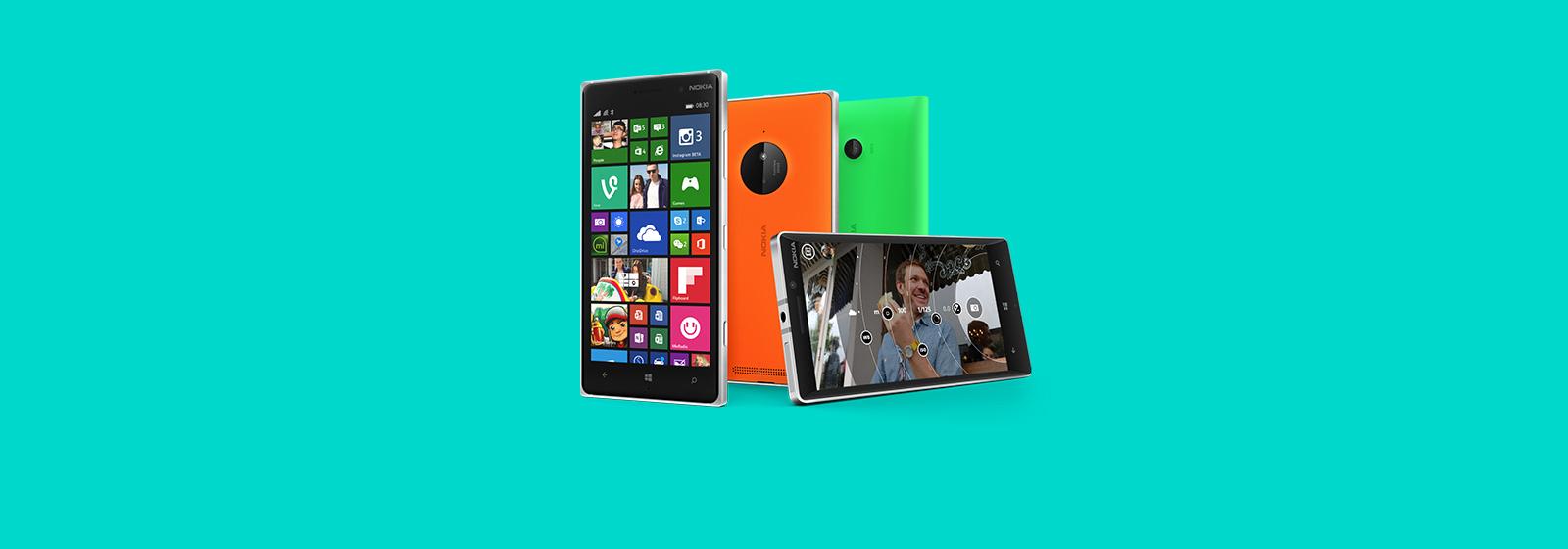Saca más partido a tu smartphone. Más información sobre dispositivos Lumia.