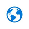 Logotipo de mundo