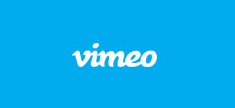 Logotipo de Vimeo, obtén más información sobre cómo cargar vídeos en Vimeo.