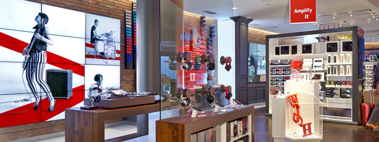 Diseño de tienda de XOGO