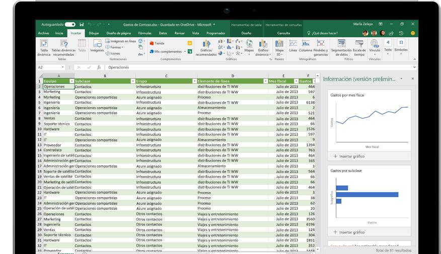 """Página """"Compartir de Excel"""" con la opción """"Invitar a personas"""" seleccionada"""