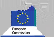 Logotipo de la Comisión Europea, obtén información sobre las cláusulas modelo de la UE