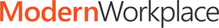 Logotipo de Modern Workplace, obtén más información acerca de la serie de webcast Modern Workplace