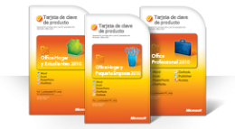 Usar la tarjeta de clave del producto de Office 2010