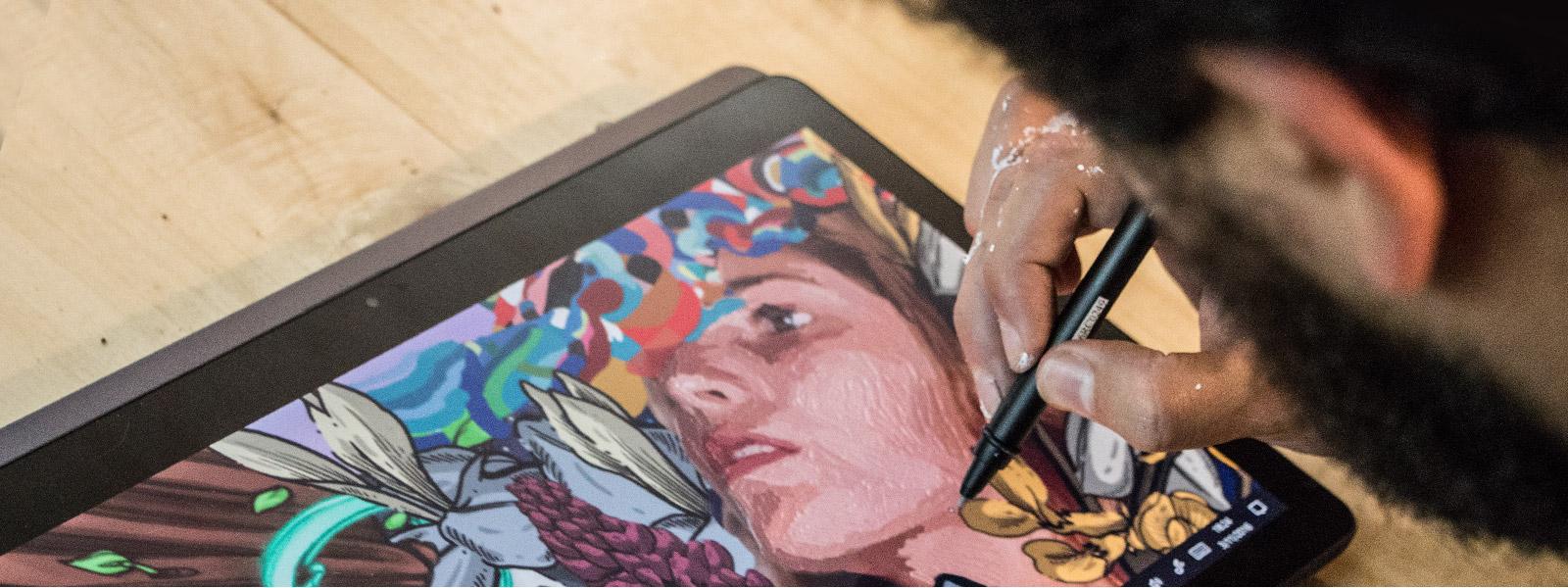 Windows Ink en Lenovo Yoga en modo tableta