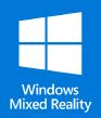 Insignia de Windows Mixed Reality