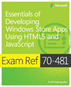 Exam Ref 70-481: Essentials of Developing Windows Store Apps Using HTML5 and JavaScript (portada)