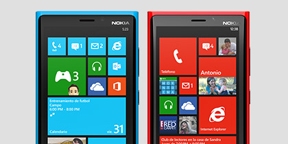 Encuentra el Windows Phone que se ajusta a tu estilo.