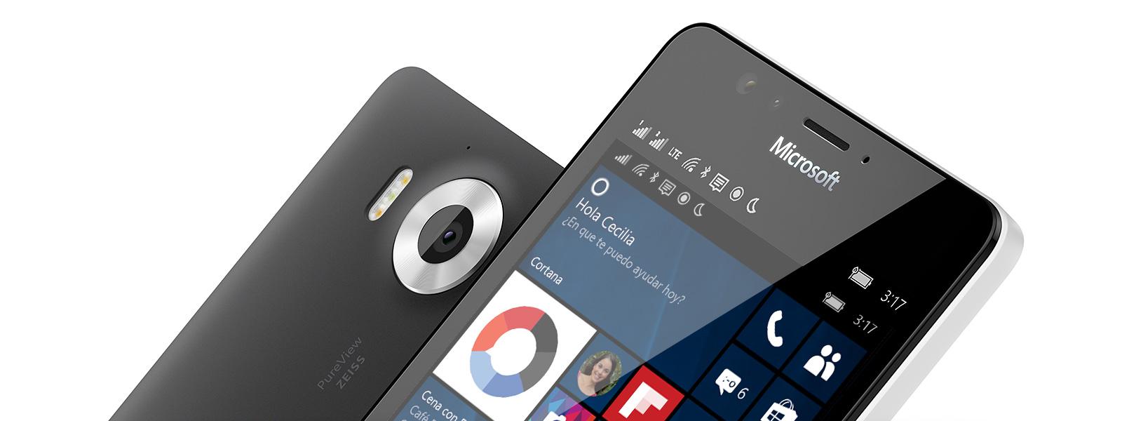 Teléfonos móviles Windows 10