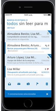 OWA para iPhone