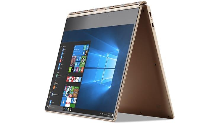 Equipo 2 en 1 con pantalla Inicio de Windows 10