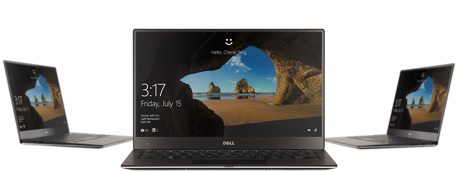 Imagen grupal de HP Spectre, Lenovo Yoga y Surface Studio.