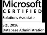 MCSA: SQL 2016 Database Administration