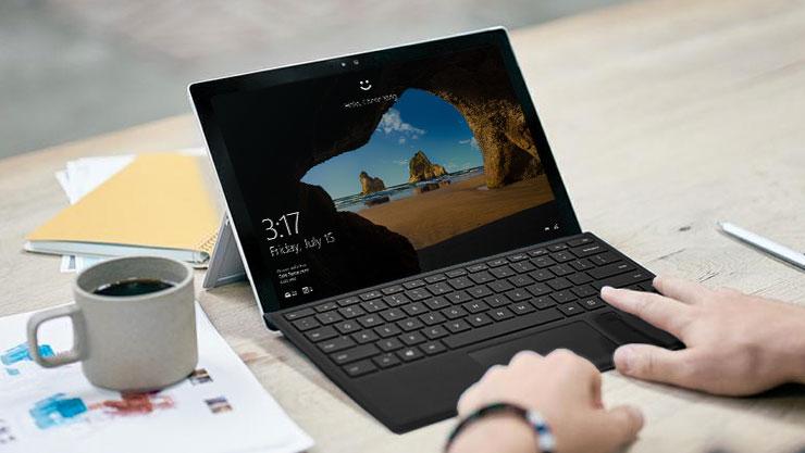 Windows Hello sõrmejäljetuvastus