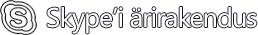 Skype'i ärirakenduse logo