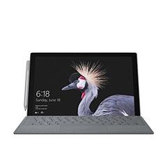 LTE Advanced -teknologialla varustettu Surface Pro ja kynä edestä nähtyinä