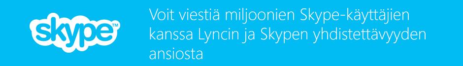 Lync–Skype-yhteys