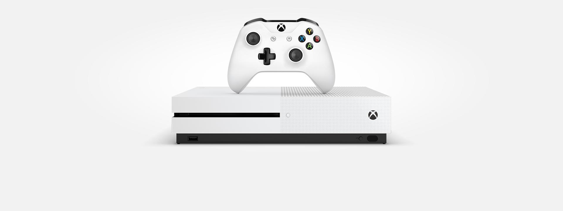 Xbox One S -konsoli ja -ohjain, osta nyt