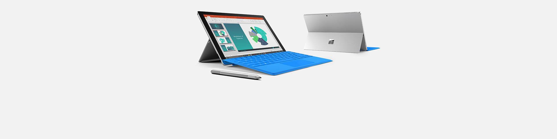 Surface Pro 4 -laitteita