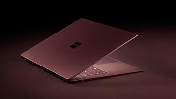 Viininpunainen Surface Laptop