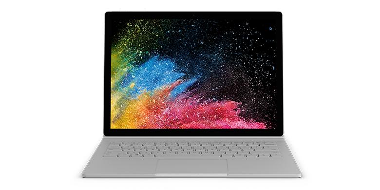 Surface Book 2 irrotettavalla näytöllä
