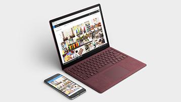 Synkronoi puhelimesi minkä tahansa Surface-laitteen kanssa