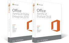 Office Famille et Petite Entreprise2016, Office Famille et Étudiant2016