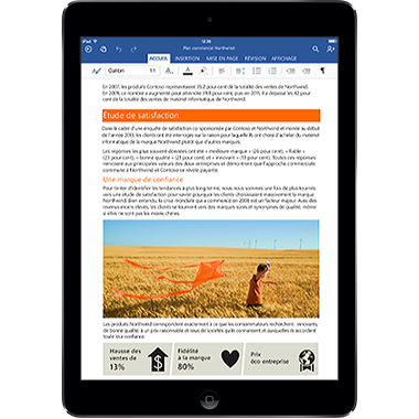 Office pour iPad