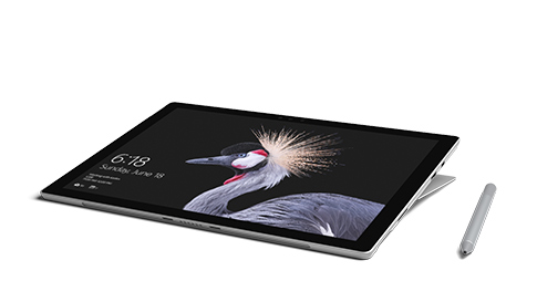 Surface Pro en mode Studio