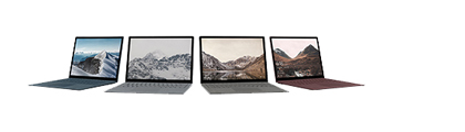 Surface Laptop colors
