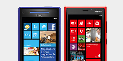 Trouvez le Windows Phone qui correspond à votre style.