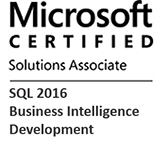 MCSA: SQL 2016 Business Intelligence Development