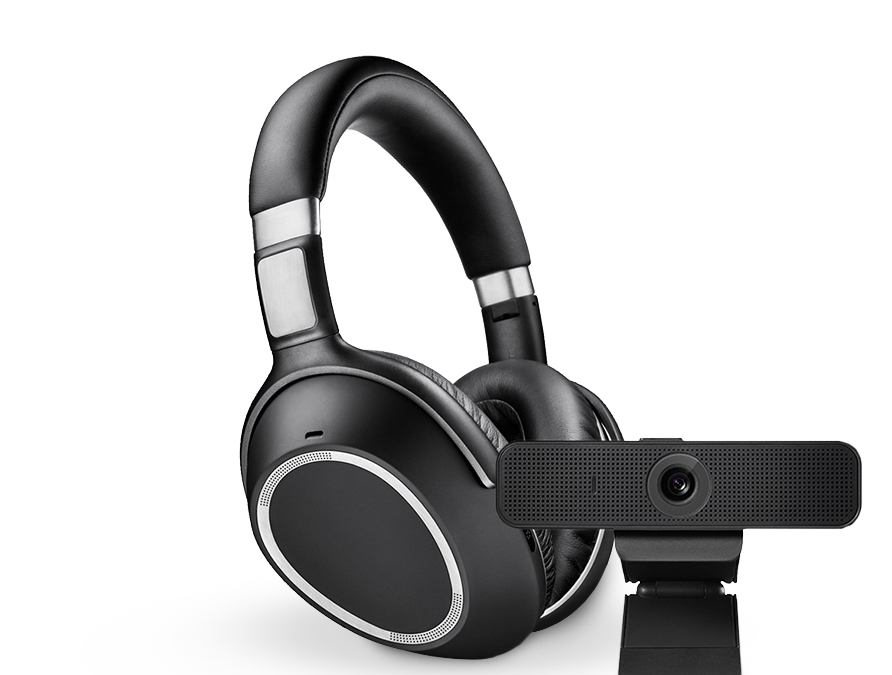 Image de casque audio et d'appareil Bluetooth
